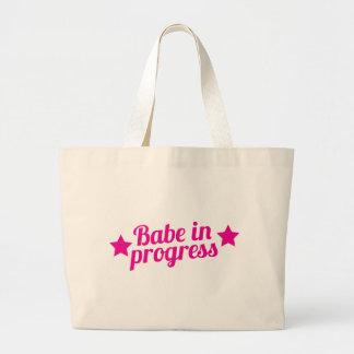 bébé en cours grand sac