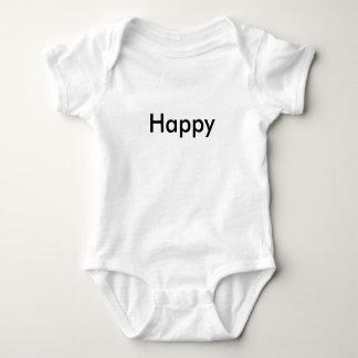 """Bébé """"heureux"""" 1 de triplet de nouvelle année de body"""