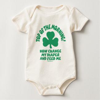 Bébé irlandais - dessus du matin ! body