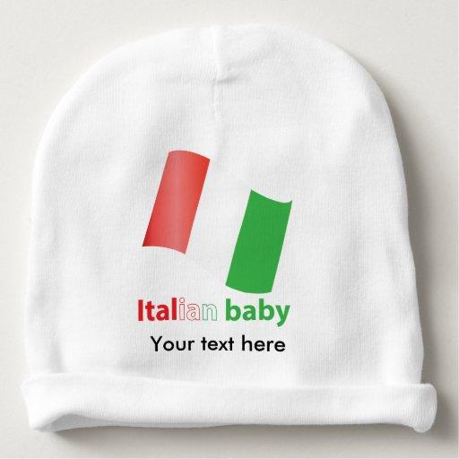 Bébé italien bonnet pour bébé
