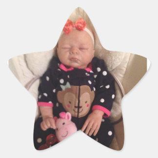 Bébé mignon sticker étoile
