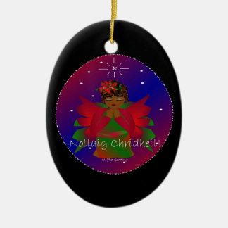 Bébé Nollaig Chridheil d'ange de Noël I Décorations De Noël