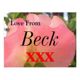 Beck Carte Postale