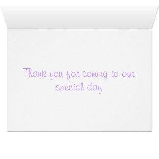 Bedankt kaarten