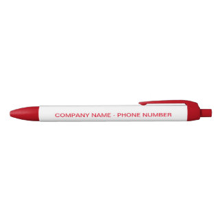 Bedrijfs Beroeps Zwarte Inkt Pen