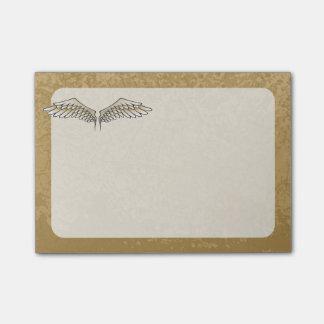 Beige vleugels post-it® notes