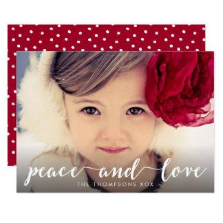 Bekleding van de Foto van Kerstmis van het 12,7x17,8 Uitnodiging Kaart