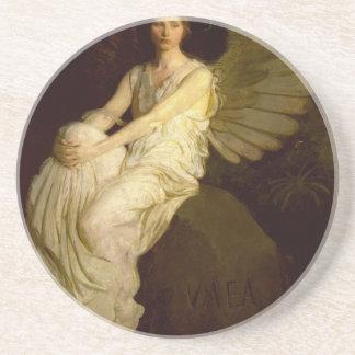 Bel ange vintage - Abbott Handerson Thayer Dessous De Verre En Grès