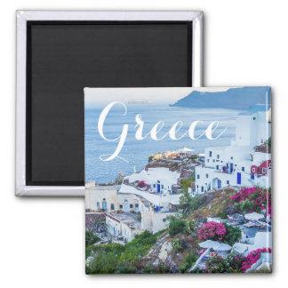 Bel Oia Santorini aimant de côte d'île de la Grèce