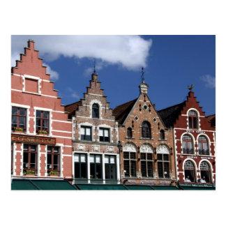 België, Brugge (aka Brug of Bruge). Unesco 2 Briefkaart