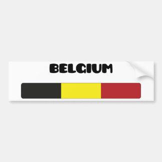 Belgique/Belgique Autocollants Pour Voiture