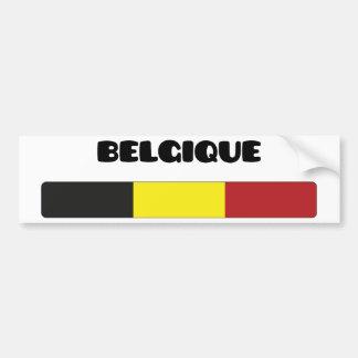 Belgique/Belgique Autocollant Pour Voiture