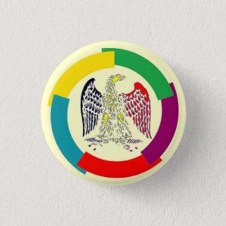 Belgique sans frontières badge rond 2,50 cm