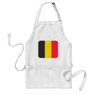 Belgische driekleur van Belgie keukenschort Standaard Schort