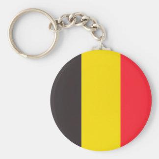 Belgische driekleur van Belgie sleutelhanger