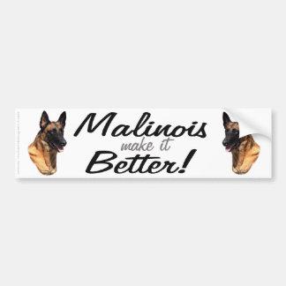 Belgische Malinois bumpersticker
