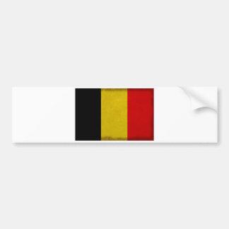 Belgische vlag België Bumpersticker