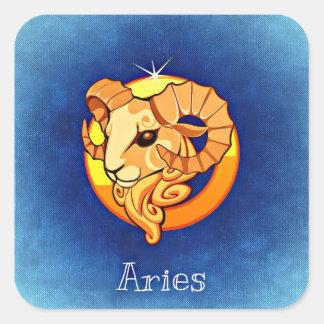 Bélier, la RAM, autocollant d'astrologie
