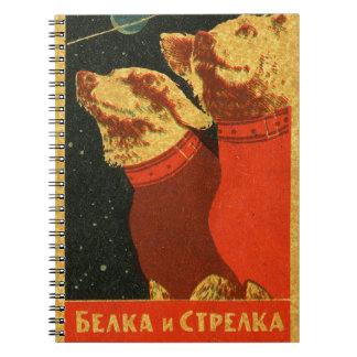Belka et Strelka Carnet