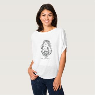 Bella des femmes de maternité+Dessus de cercle de T-shirt