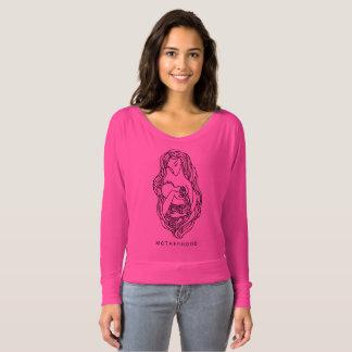 Bella des femmes de maternité+Toile Flowy outre T-shirt