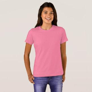 Bella van meisjes+De T-shirt van de Bemanning van