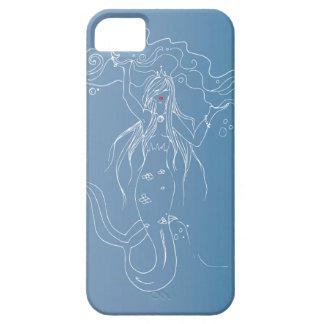 Belle caisse blanche de téléphone de sirène coque iPhone 5
