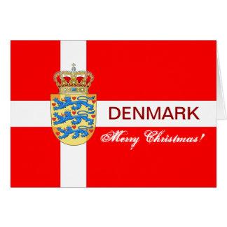 Belle carte de voeux de Noël du Danemark !