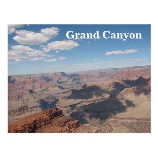 Belle carte postale de canyon grand !