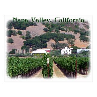 Belle carte postale de Napa Valley !