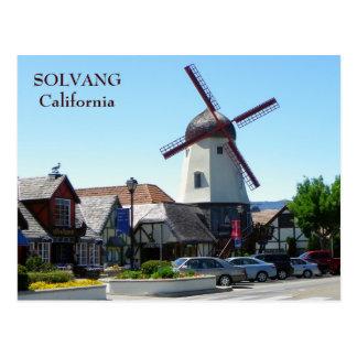 Belle carte postale de Solvang !