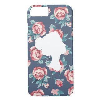 Belle force (roses) - cas de téléphone coque iPhone 8/7