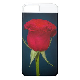 Belle image Iphone de rose rouge Coque iPhone 7 Plus