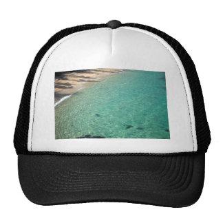 Belle mer tropicale de scintillement claire casquettes de camionneur