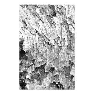 Belle photographie d'écorce d'arbre papeterie