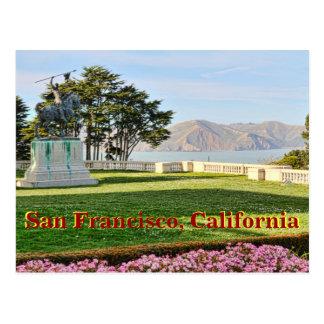 Belle vue de Baie de San Franciso Carte Postale