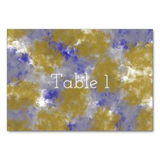 Belles cartes de Tableau d'impression d'éponge