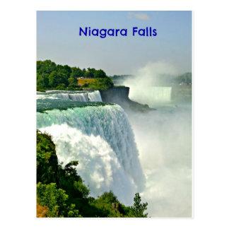 Belles chutes du Niagara New York Carte Postale