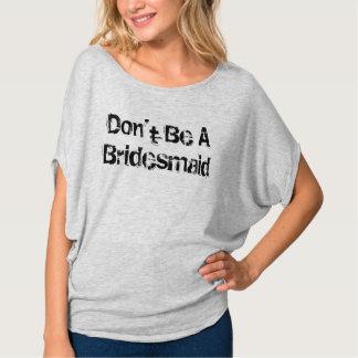 Ben de geen Sleeves van een van het Bruidsmeisje T Shirt