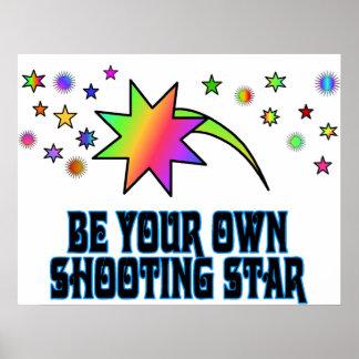 Ben een Poster van de Vallend ster