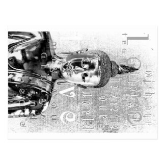 Bénédiction de Bouddha Carte Postale