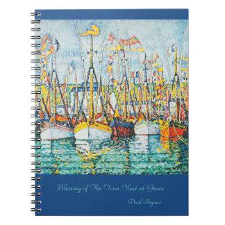 Bénédiction de la flotte de thon chez Groix par Carnet À Spirale