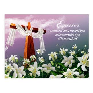 Bénédictions de Pâques. Cartes postales