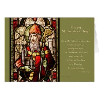 Bénédictions irlandaises - saint Patrick Carte De Vœux