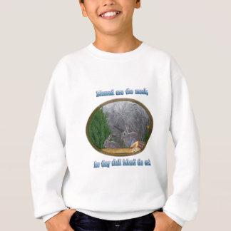 bénis sont les doux sweatshirt