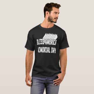 Bénissez le T-shirt du Jour du Souvenir 1 de