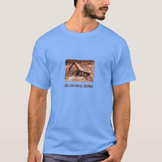 Bénissez notre maison - T-shirt foncé