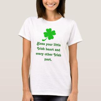 Bénissez votre petit bébé irlandais de coeur - la t-shirt