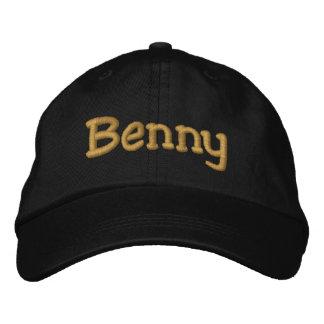 Benny a personnalisé la casquette de