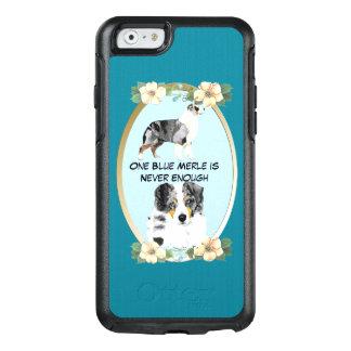 Berger australien bleu de Merle, Teal floral Coque OtterBox iPhone 6/6s
